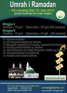 Umrah i ramadan ICC Hajj og umrah